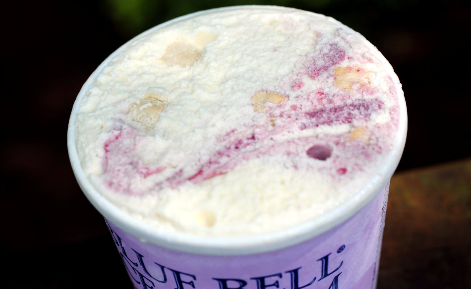 food and ice cream recipes REVIEW Blue Bell Southern Blackberry