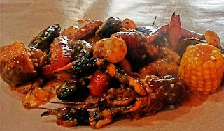 alamat, cut crab resto, cut the crab pantai indah kapukvs holy crab, elapa gading, review, twitter,