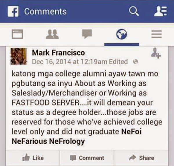 Netizens Blast Journalist for 'Offensive' Facebook Post