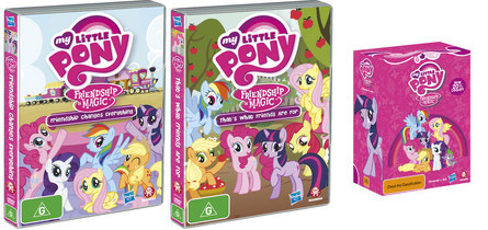 equestria daily mlp stuff season one and two dvd