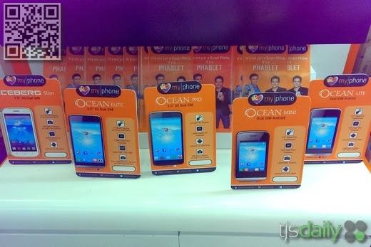 MyPhone Ocean Smartphone Series