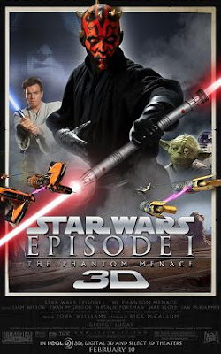 watch Star Wars Episode I - The Phantom Menace 3D 2012 film