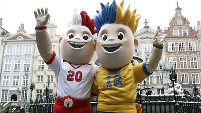 Mascot Euro 2012 Poland-Ukraine