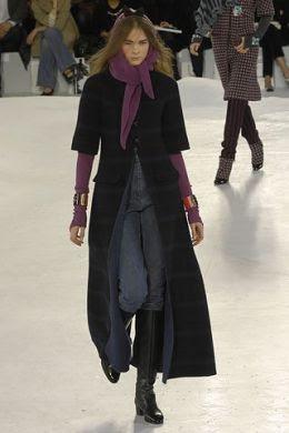 Мода Осень Зима 2007 Верхняя Одежда