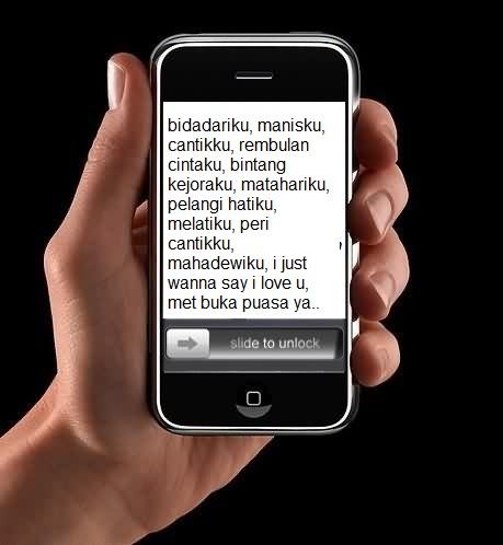 SMS Ucapan Selamat Berbuka Puasa