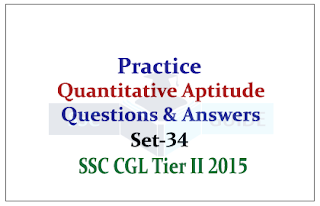 SSC CHSL/CGL Mains - Aptitude Data Interpretation Questions