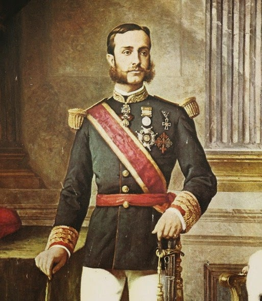 Retrato de Alfonso XII de España