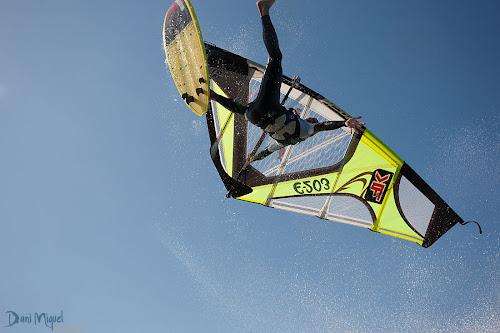Josep Pons windsurfing backloop