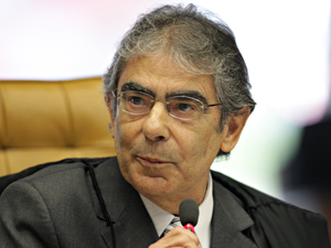 Ministro Ayres Britto STF (Foto: Carlos Humberto/SCO/STF)