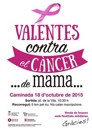 Caminada contra el càncer de mama 2015
