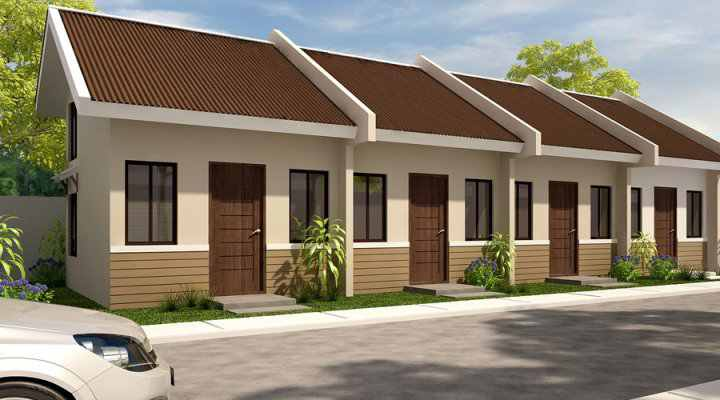 Summer ville 1 storey rowhouse in ibabao cordova lapu lapu for Row house designs small lots