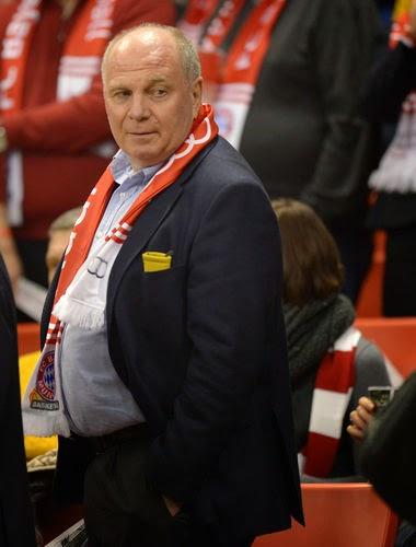 Ex-Bayern-boss Uli Hoeness