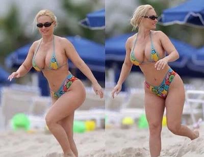 american model Coco Austin bikini photos