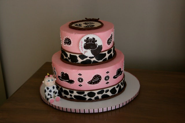 Cakes By Jyl Western Baby Shower Cake