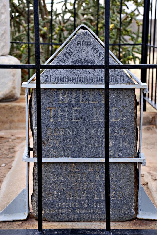 billy the kid grave site. of The Kid#39;s grave in the