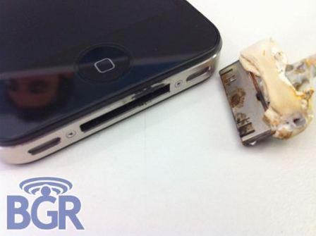 iPhone 4 Terbakar Selagi Dichaz