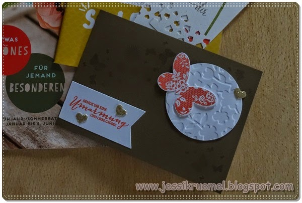 Stampin up, SAB, Sale a bration, Frühlingsmini 2015