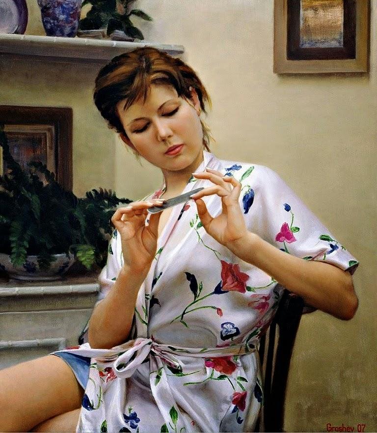 mujer-cuadro-pintado-al-oleo