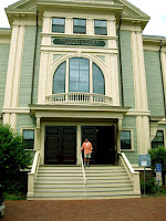 Chalie at the Provincetown Town Hall
