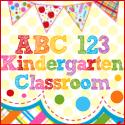 ABC 123 Kindergarten Classroom