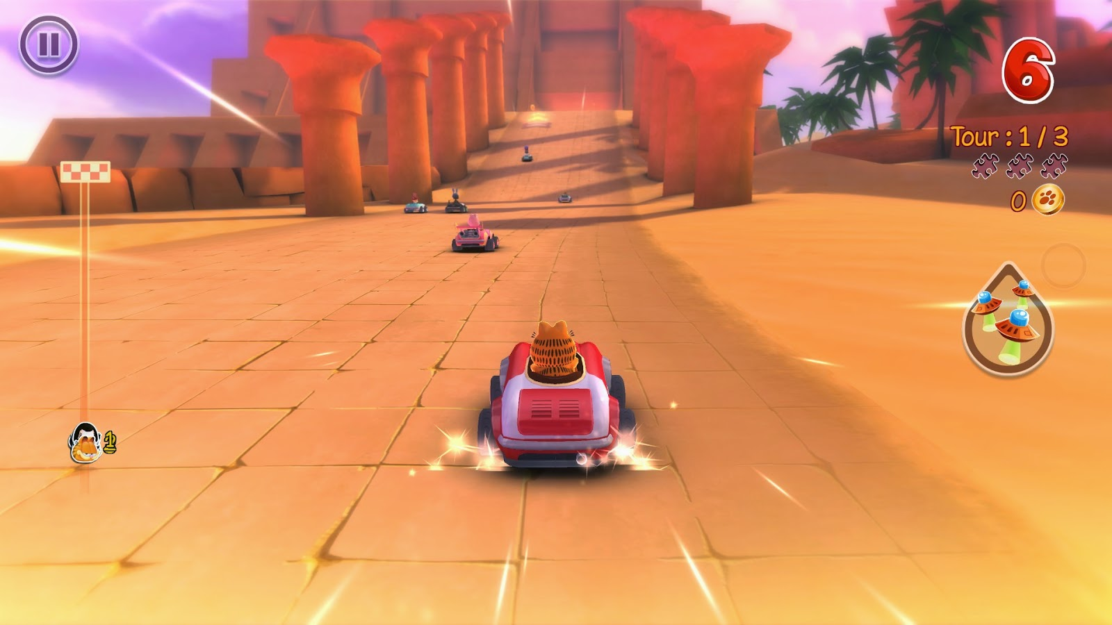 Garfield Kart Game Free Download Full Version For Pc