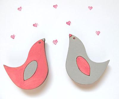 lovebird magnets
