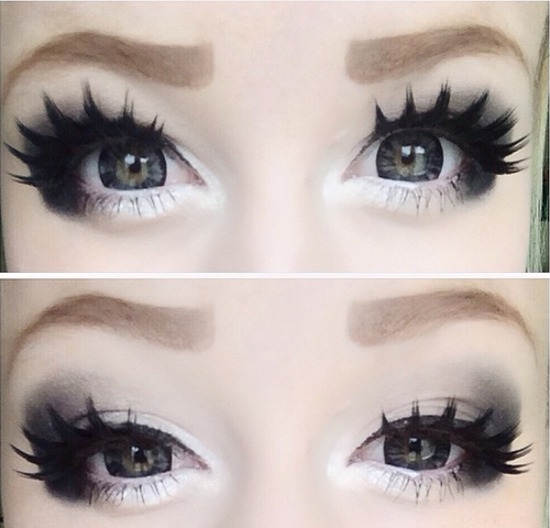 Doll up Yourself with Barbie Forest Grey Circle Lenses