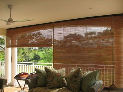 Bamboo Outdoor Blinds
