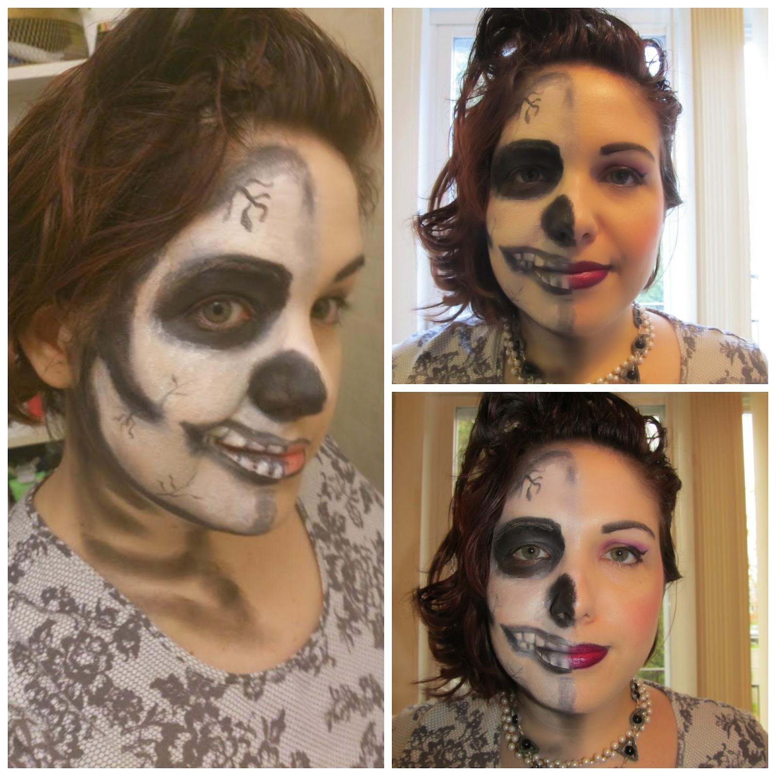 Retour sur ma journ e d 39 halloween 2013 etre radieuse par josianne brousseau - Maquillage halloween couple ...