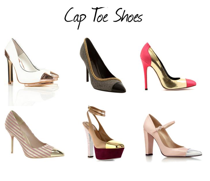 Cap-Toe Ayakkabı Trendi