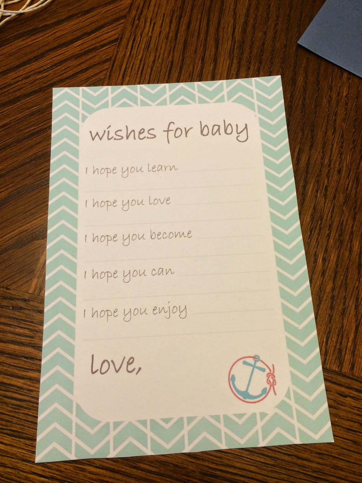 things to write in a book for a baby shower