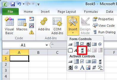 Cara Membuat Scroll Bar Di Lembar Kerja Excel