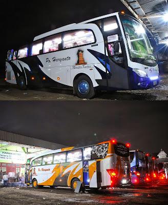 Bus baru PO Haryanto