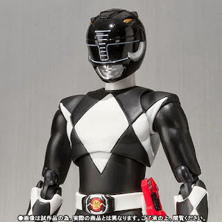 Bandai SH Figuarts Power Rangers Black (Mammoth) Ranger Figure