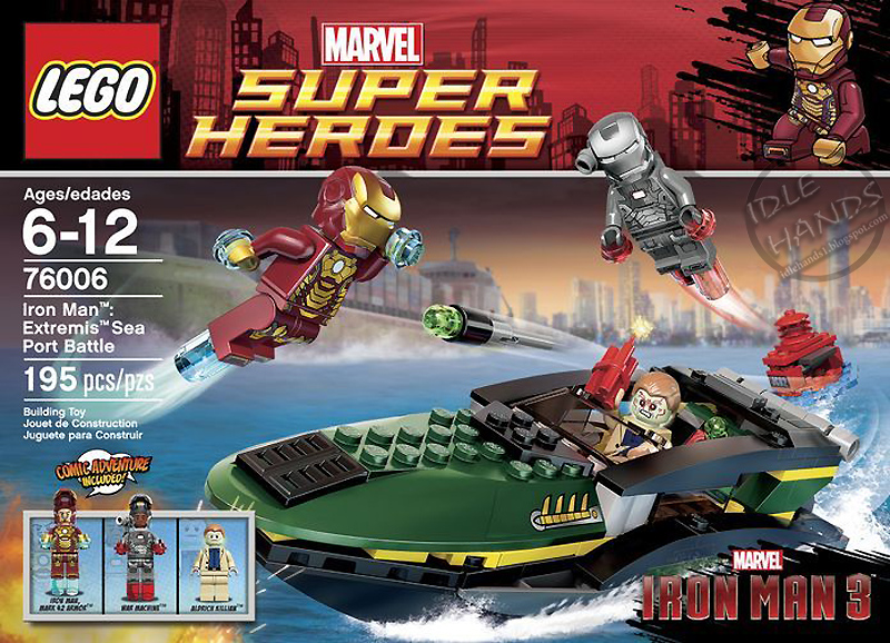 Idle hands toy fair 2013 lego 39 s 250 new building sets - Lego iron man 3 ...