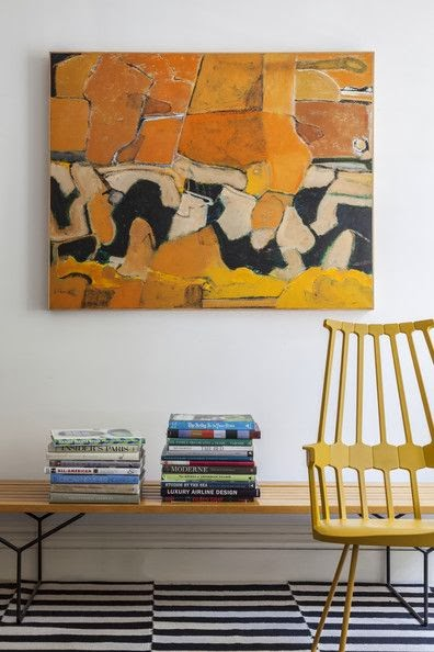 art vignette yellow interesting space