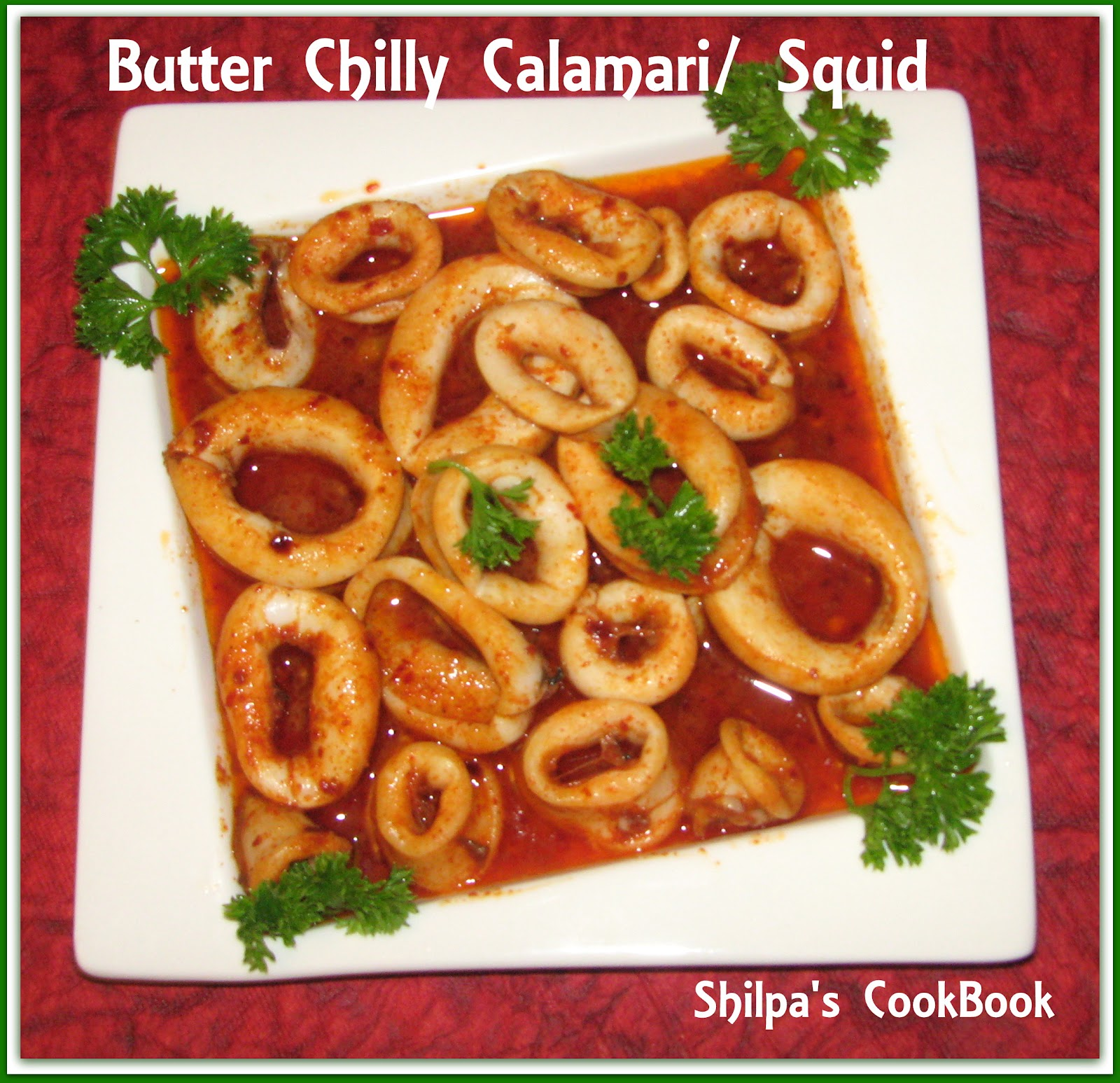 how to prepare and cook squid rings