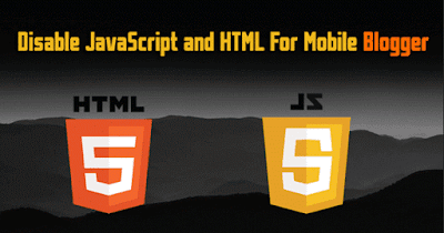 মোবাইল Template থেকে অপ্রয়োজনীয় JavaScript ও Widgets এর Rendering Disable করুন।