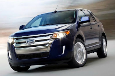 Novo Crossover Ford Edge concorrente do Captiva e Journev