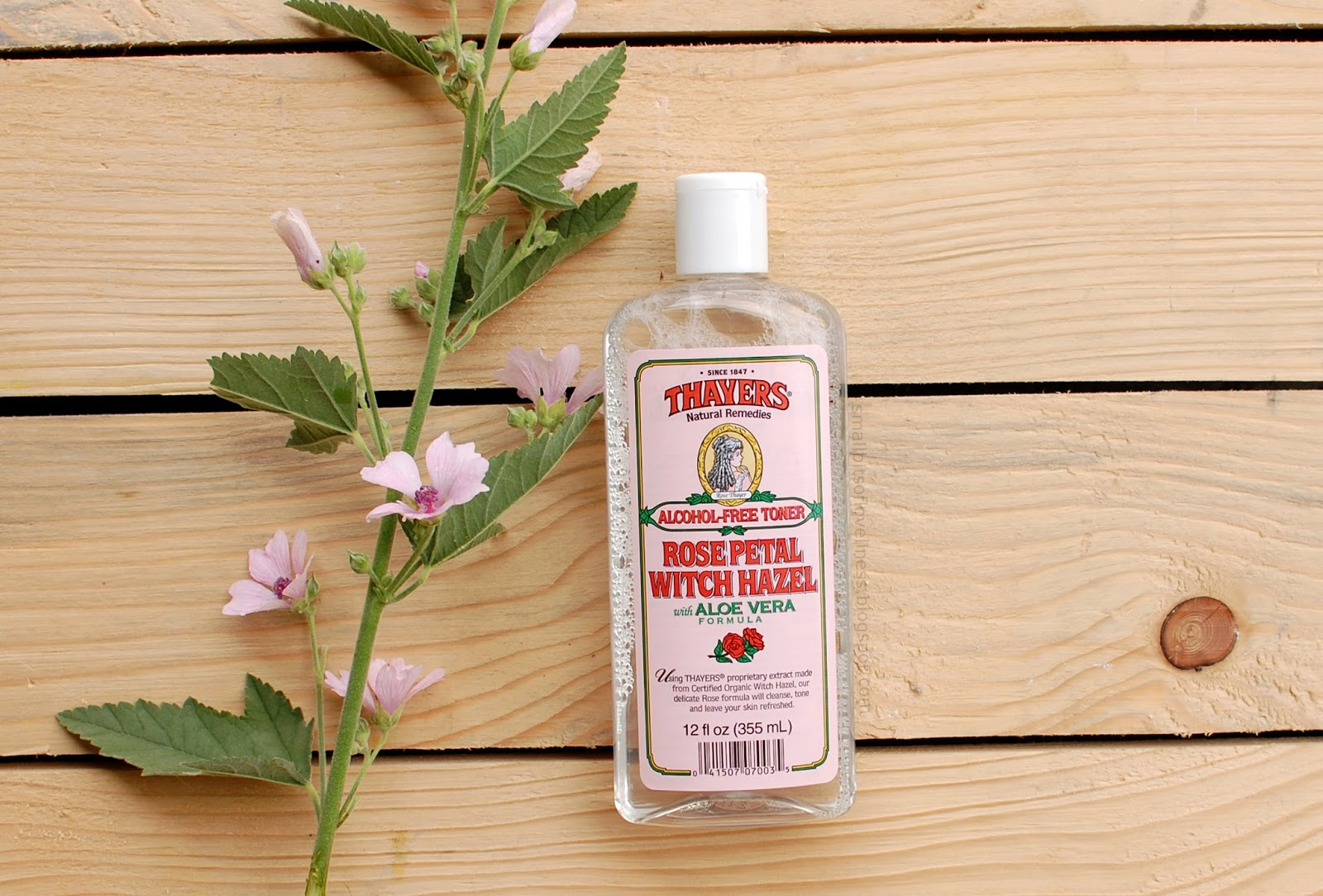 Thayers Alcohol-Free Toner Rose Petal Witch Hazel with Aloe Vera
