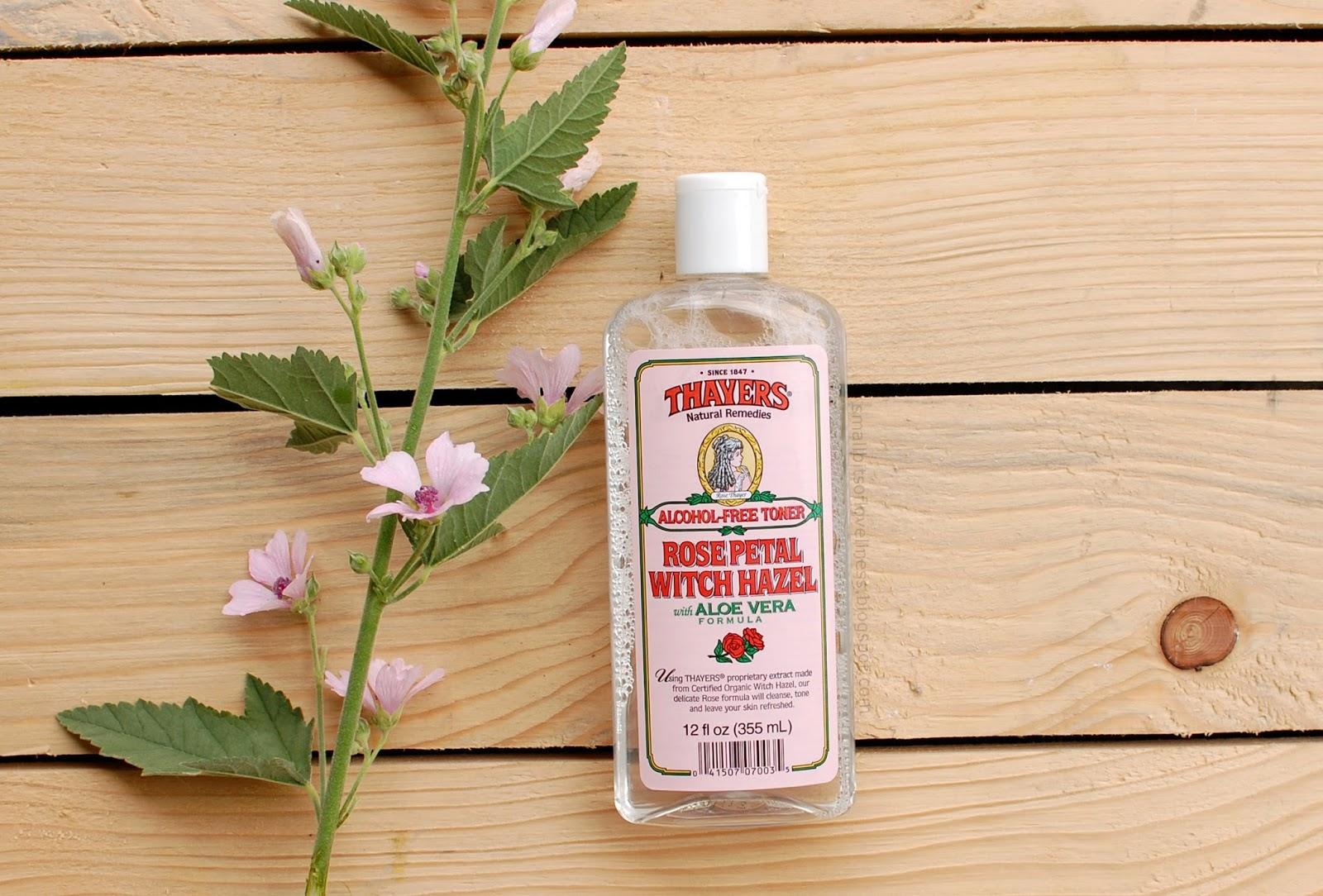 Thayers Alcohol-Free Toner Rose Petal Witch Hazel with Aloe Vera