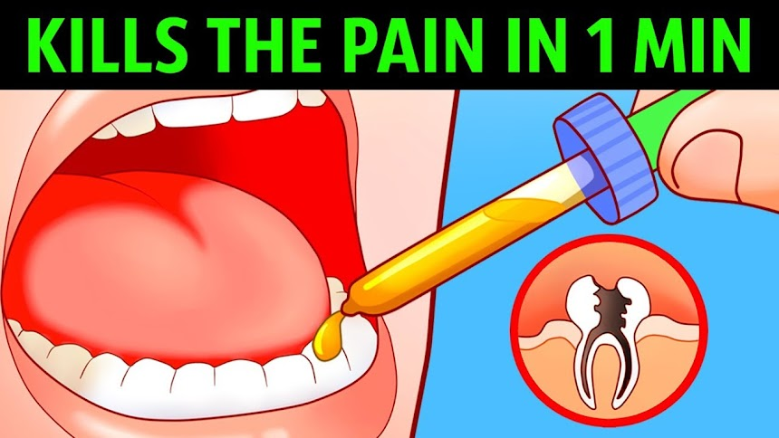 BUY NOW  Toothache RELIEF Kills Tooth Pain Fast