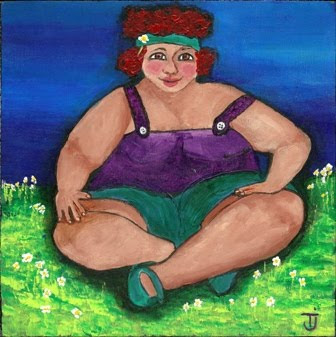 Ophelias Flowers Art By Tj 3 More Fat Ladies
