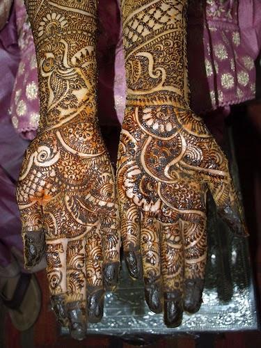 Wedding mehandi designs for hands