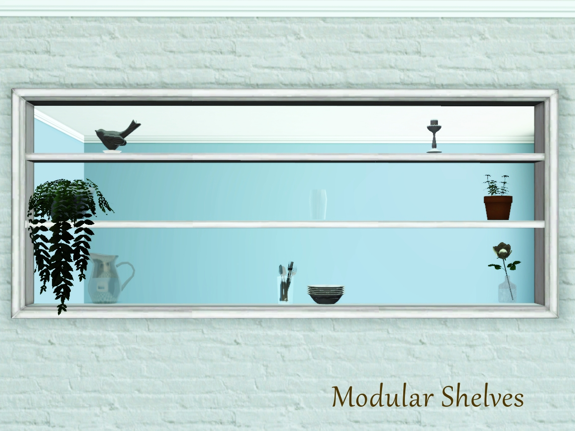 Very Impressive portraiture of My Sims 3 Blog: Wall Cut Out Shelves by Pocci with #5B4C22 color and 1162x872 pixels