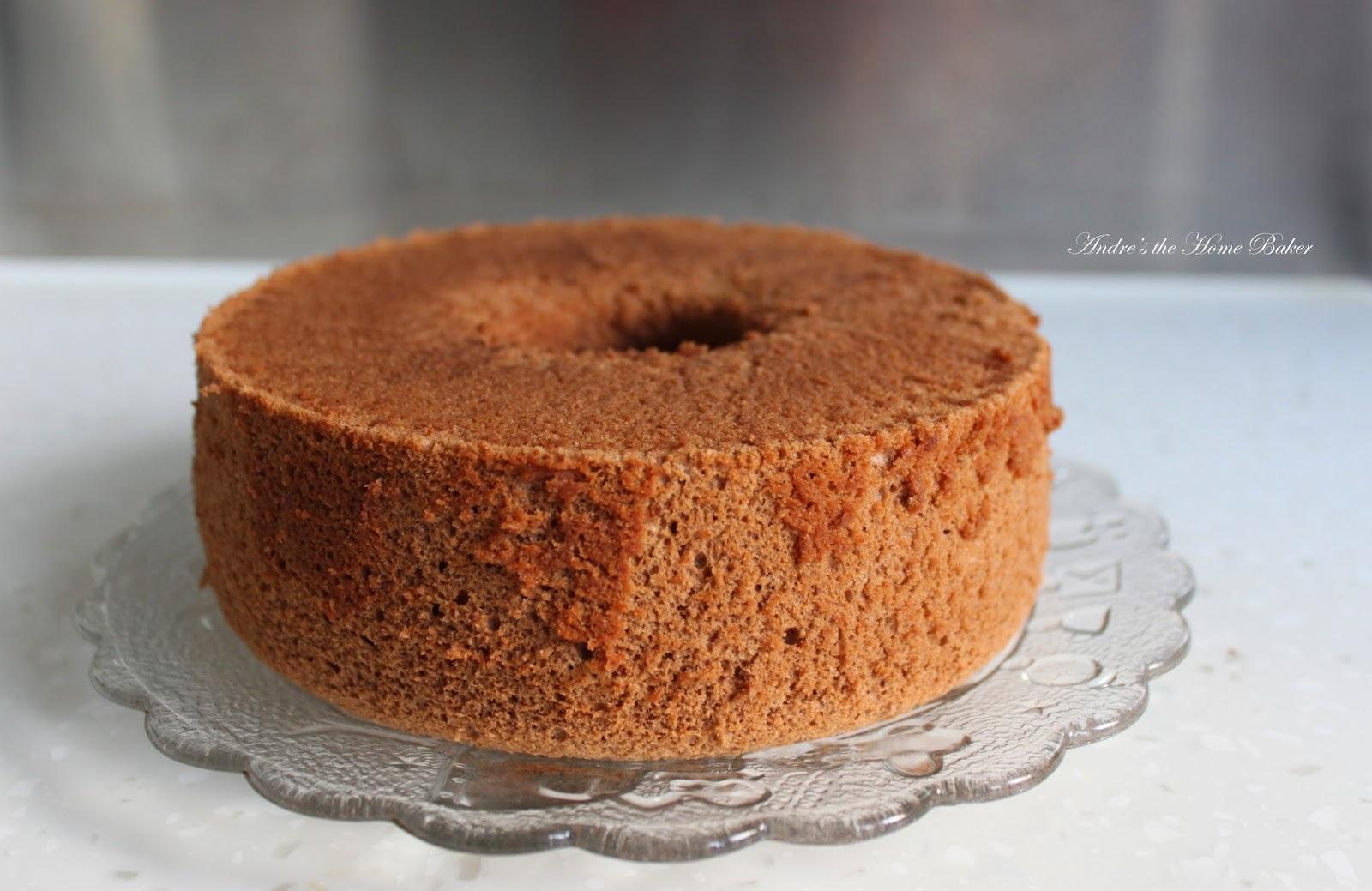 Andre's the Home Baker: ♥ Chocolate Mocha Chiffon Cake ♥