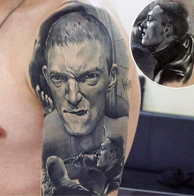 Amazingly Realistic Tattoo by Valentine Ryabov