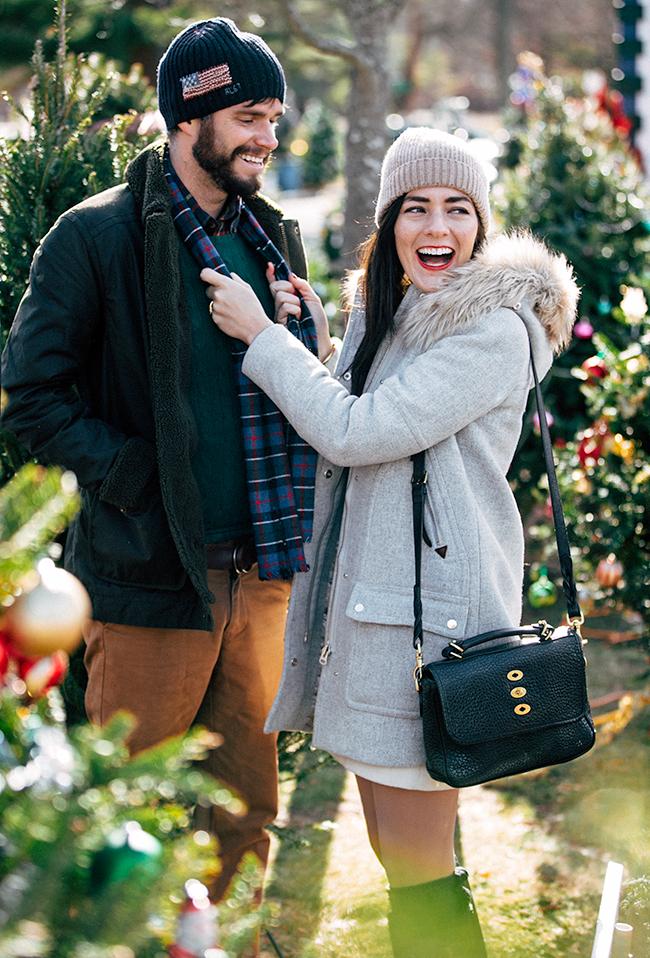christmas look couple