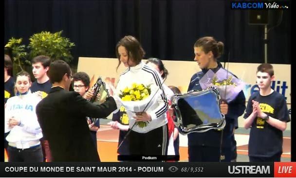 Ana Maria Branza, locul 3 in Franta