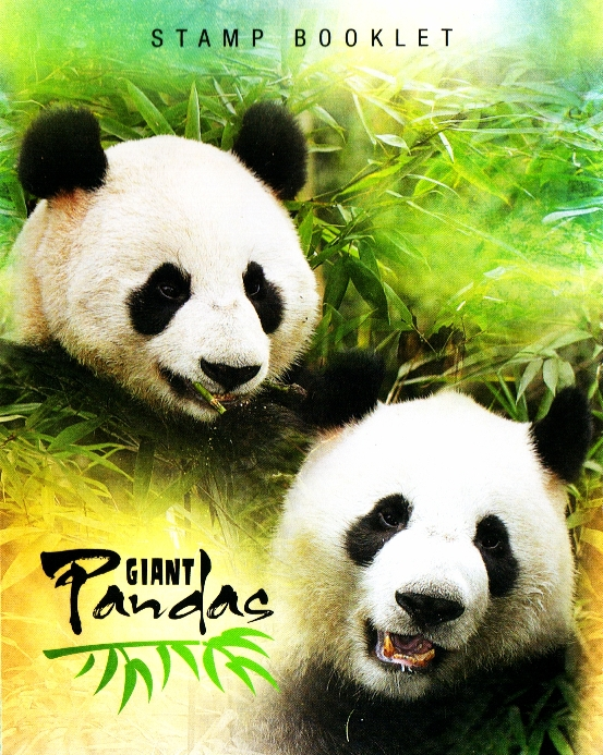 Pandas - 50¢ Self-adhesive Booklet